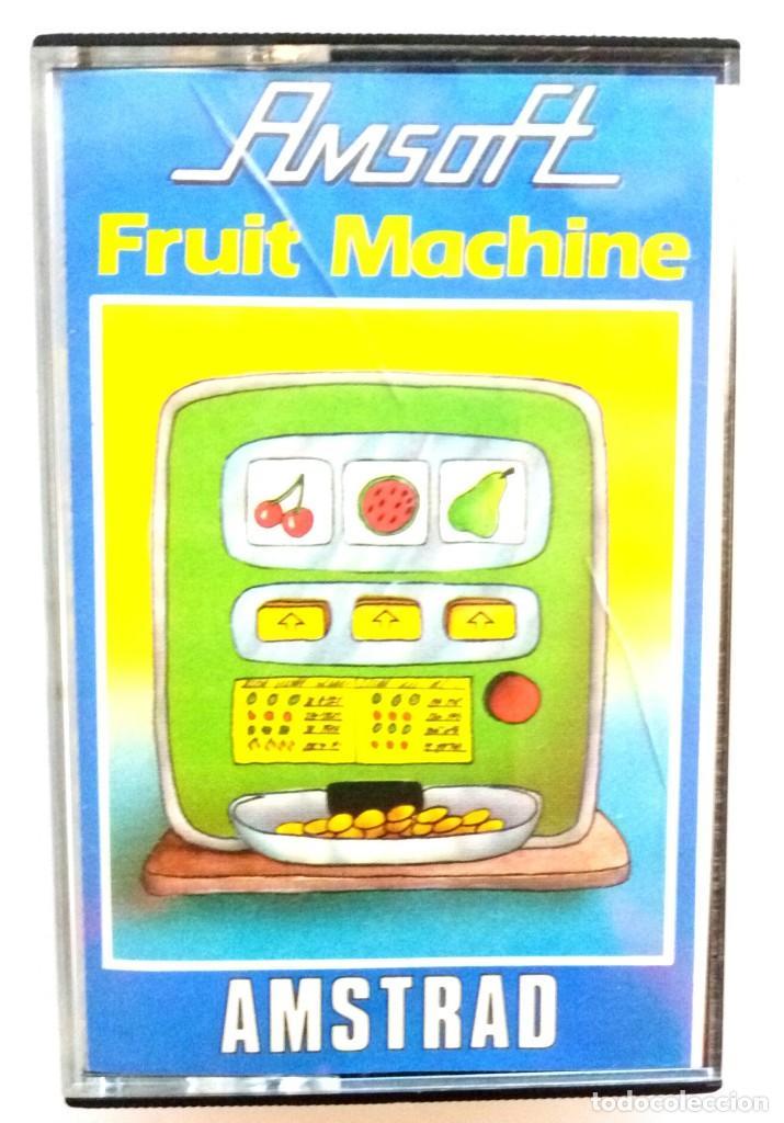 FRUIT MACHINE / JUEGO AMSTRAD ORIGINAL / COMPLETO / BUEN ESTADO (Juguetes - Videojuegos y Consolas - Amstrad)