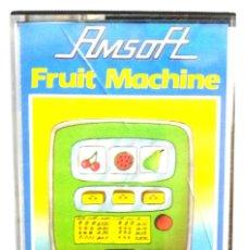 Videojuegos y Consolas: FRUIT MACHINE / JUEGO AMSTRAD ORIGINAL / COMPLETO / BUEN ESTADO. Lote 136574086