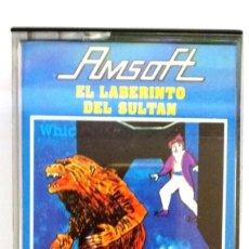 Videojuegos y Consolas: EL LABERINTO DEL SULTAN / JUEGO AMSTRAD ORIGINAL / COMPLETO / BUEN ESTADO. Lote 136576578