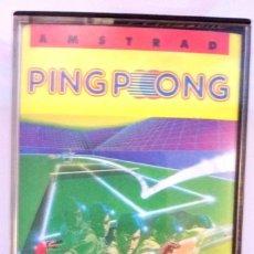 Videojuegos y Consolas: PING PONG / JUEGO AMSTRAD ORIGINAL / COMPLETO / BUEN ESTADO. Lote 136577278