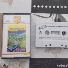 Videojuegos y Consolas: JUEGO AMSTRAD. PING-PONG IMAGINE / KONAMI / ERBE. AMSTRAD. Lote 136830086