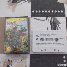 Videojuegos y Consolas: JUEGO AMSTRAD. SAS COMBAT SIMULATOR. CODEMASTERS / ERBE. AMSTRAD. Lote 136830550