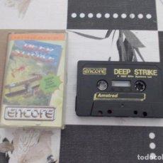 Videojuegos y Consolas: JUEGO AMSTRAD. DEEP STRIKE. ENCORE / MARTECH. VERSION INGLESA. Lote 136830670
