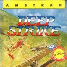Videojuegos y Consolas: VESIV CASETE JUEGO ORDENADOR AMSTRAD DEEP STRIKE. Lote 137179050