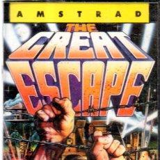 Videojuegos y Consolas: VESIV CASETE JUEGO ORDENADOR AMSTRAD THE GREAT ESCAPE . Lote 137179566