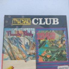 Videojuegos y Consolas: MICRO CLUB THUNDER BLADE/1943, AMSTRAD DISCO, PRECINTADO SIN ABRIR DISK NEW ERBE. Lote 138560762