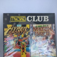 Videojuegos y Consolas: MICRO CLUB, HYPERSPORTS Y MATCH DAY II, AMSTRAD DISCO, OCEAN/ERBE, PRECINTADO. Lote 138629834
