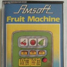 Videojuegos y Consolas: CASETE AMSTRAD AMSOFT FRUIT MACHINE. Lote 138798466