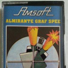 Videojuegos y Consolas: CASETE AMSTRAD AMSOFT ALMIRANTE GRAF SPEE. Lote 138799194