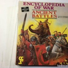 Videojuegos y Consolas: JUEGO ENCYCLOPEDIA OF WAR ANCIENT BATTLES DE AMSTRAD CPC 6128 DISCO /DISK. Lote 139511178