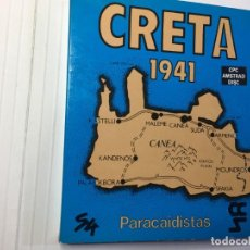 Videojuegos y Consolas: JUEGO CRETA 1941 PARACAIDISTAS DE AMSTRAD CPC 6128 DISCO /DISK. Lote 139511334