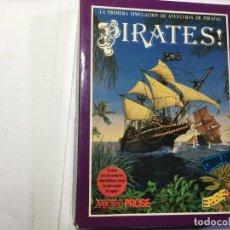 Videojuegos y Consolas: JUEGO PIRATES! - AMSTRAD CPC 6128 DISCO/DISK. Lote 139512978