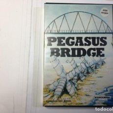 Videojuegos y Consolas: JUEGO PEGASUS BRIDGE - AMSTRAD CPC 6128 DISCO/DISK. Lote 139513274