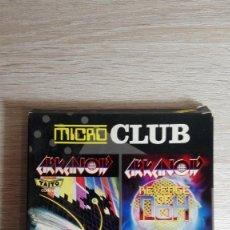 Videojuegos y Consolas: MICRO CLUB-ARKANOID I Y II PARA AMSTRAD DISCO-ERBE-AÑO 1987-1988.PERFECTO ESTADO.. Lote 140547718