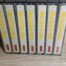 Videojuegos y Consolas: COLECCIÓN YOUR COMPUTER DEL 1 AL 7 INCLUSIVE-AMSTRAD CASSETTE-AÑO 1986. Lote 140548774