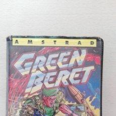Videojuegos y Consolas: GREEN BERET-AMSTRAD CASSETTE CON ESTUCHE-IMAGINE-KONAMI-AÑO 1986.DIFÍCIL.. Lote 140983410