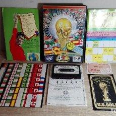 Videojuegos y Consolas: AMSTRAD CASSETTE-WORLD CUP CARNIVAL FUTBOL FIFA MUNDIAL MÉXICO 86 CON ESTUCHE Y TODOS EXTRAS-AÑO1986. Lote 141516330