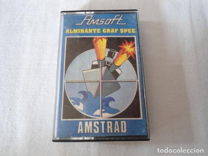CINTA AMSTRAD ALMIRANTE GRAF SPEE 1985 (Juguetes - Videojuegos y Consolas - Amstrad)