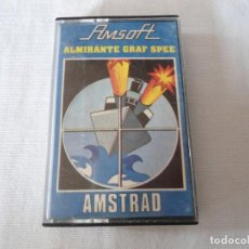 Videojuegos y Consolas: CINTA AMSTRAD ALMIRANTE GRAF SPEE 1985. Lote 141704594