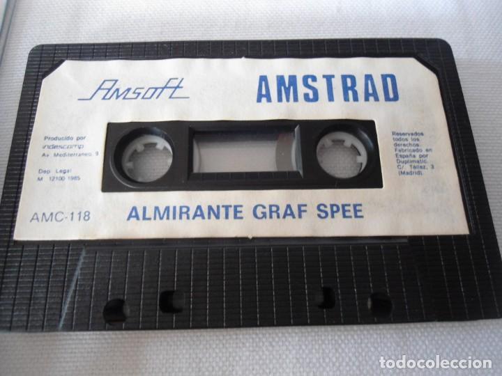 Videojuegos y Consolas: CINTA AMSTRAD ALMIRANTE GRAF SPEE 1985 - Foto 4 - 141704594