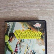 Videojuegos y Consolas: FIRETRAP-AMSTRAD CASSETTE-CON ESTUCHE-PROEIN-AÑO 1987-MUY BUEN ESTADO.. Lote 142261714