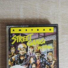 Videojuegos y Consolas: STREET GANG FOOTBALL-AMSTRAD CASSETTE-CODE MASTERS-AÑO 1989-BUEN ESTADO.SERIE LEYENDA.. Lote 143022242