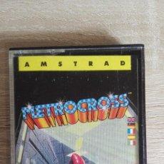 Videojuegos y Consolas: METROCROSS-AMSTRAD CASSETTE-NAMCO-ERBE SOFTWARE-AÑO 1987.. Lote 143023310
