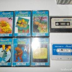 Videojuegos y Consolas: JUEGOS AMSTRAD LOTE SEMICOMPLETO. Lote 143437270