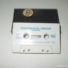 Videojuegos y Consolas: JUEGOS AMSTRAD. CONTINENTAL CIRCUS. MASTERTRONIC - DRO. Lote 143443958