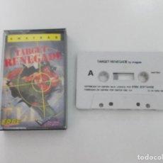 Videojuegos y Consolas: JUEGO AMSTRAD. TARGET RENEGADE. IMAGINE - ERBE. Lote 143447786
