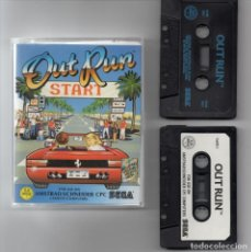 Videojuegos y Consolas: AMSTRAD - OUT RUN - PC GAME - CASSETTE - K7 . Lote 143761342