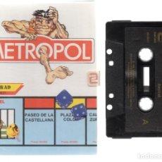 Videojuegos y Consolas: AMSTRAD - METROPOL - PC GAME - CASSETTE - K7 . Lote 143761374