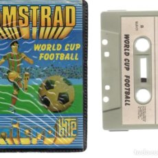 Videojuegos y Consolas: AMSTRAD - WORLD CUP FOOTBALL - PC GAME - CASSETTE - K7 . Lote 143761434