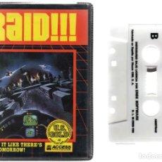 Videojuegos y Consolas: AMSTRAD - RAID - PC GAME - CASSETTE - K7 . Lote 143761566