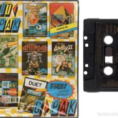 Videojuegos y Consolas: AMSTRAD - HIT PACK - PC GAME - CASSETTE - K7 . Lote 143761698