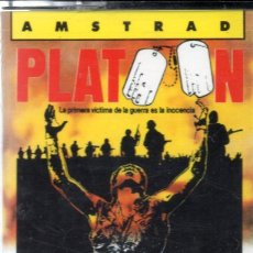 Videojuegos y Consolas: AMSTRAD - PLATOON - PC GAME - CASSETTE - K7 . Lote 143761722