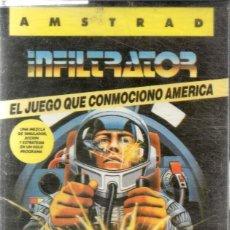 Videojuegos y Consolas: AMSTRAD - INFILTRATOR - PC GAME - CASSETTE - K7 . Lote 143761822