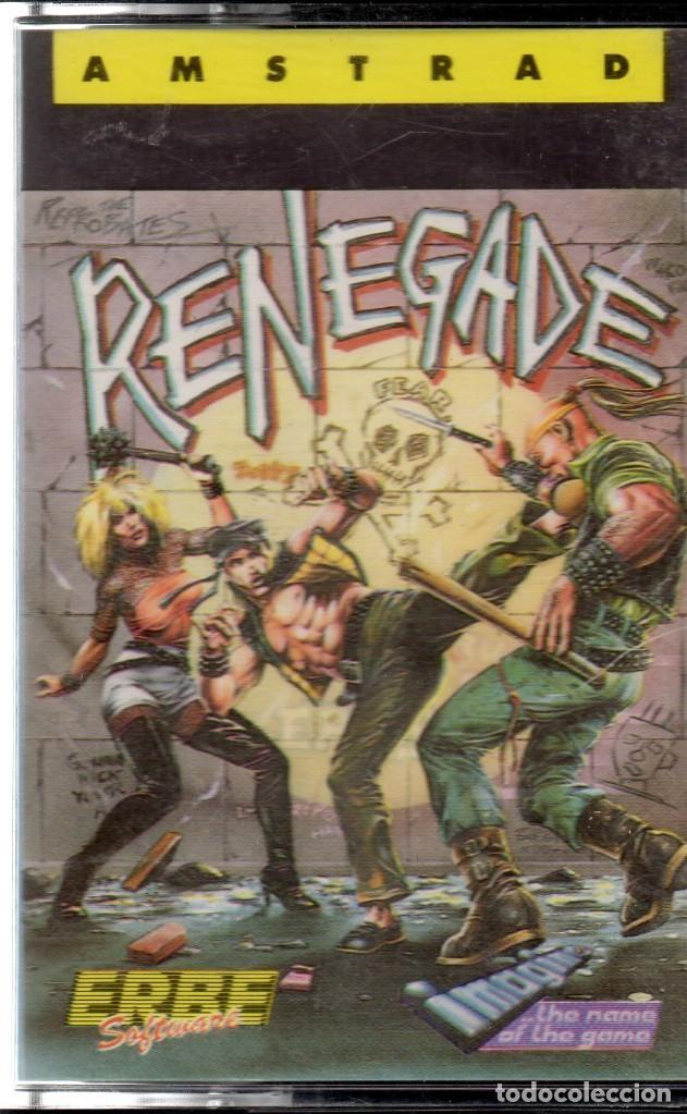 AMSTRAD - RENEGADE - PC GAME - CASSETTE - K7 (Juguetes - Videojuegos y Consolas - Amstrad)