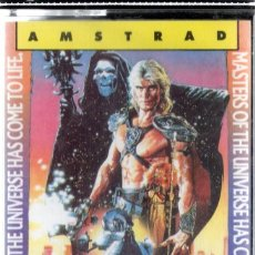 Videojuegos y Consolas: AMSTRAD - MASTERS OF THE UNIVERSE - THE MOVIE - PC GAME - CASSETTE - K7. Lote 143762102
