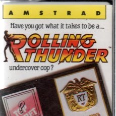 Videojuegos y Consolas: AMSTRAD - ROLLING THUNDER - PC GAME - CASSETTE - K7. Lote 143762642