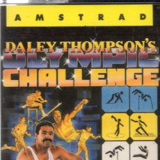 Videojuegos y Consolas: AMSTRAD - DALEY THOMPSON'S CHALLENGE - PC GAME - CASSETTE - K7. Lote 143762842
