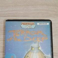 Videojuegos y Consolas: TERROR OF THE DEEP-AMSTRAD CASSETTE EN ESTUCHE-ZAFIRO SOFTWARE-AÑO 1987-DIFÍCIL-MUY BUEN ESTADO.. Lote 145932386
