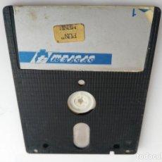 Videojuegos y Consolas: ANTIGUO DISCO DE ORDENADOR AMSTRAD . Lote 147213114