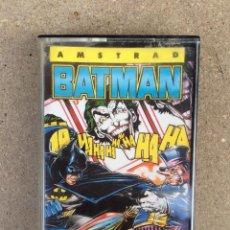 Videojogos e Consolas: BATMAN EL SUPER HEROE EL SUPERHEROE BATMAN THE CAPED CRUSADER AMSTRAD. Lote 147595002