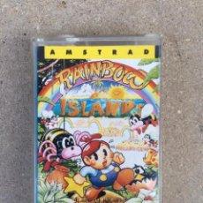 Videojuegos y Consolas: GAME FOR AMSTRAD ERBE RAINBOW ISLANDS SPANISH VERSION OCEAN 1990. Lote 147595222