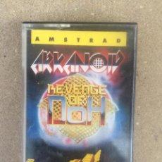 Videojuegos y Consolas: CINTA AMSTRAD ARKANOID-REVENGE OF DOH ERBE 1988. Lote 147595314