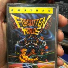 Videojuegos y Consolas: AMSTRAD ERBE FORGOTTEN WORLDS SPANISH VERSION 1988 CAPCOM. Lote 147595858
