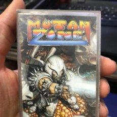 Videojuegos y Consolas: MUTAN ZONE / JUEGO AMSTRAD CPC CINTA / ESPAÑOL / OPERA SOFT 1988 ( JUAN GIMÉNEZ COVER ). Lote 147596110