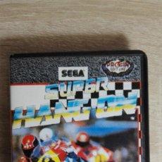 Videojuegos y Consolas: SUPER HANG ON-AMSTRAD CASSETTE CON ESTUCHE NEGRO-SEGA-PROEIN-AÑO 1987-COMO NUEVO. Lote 147913962
