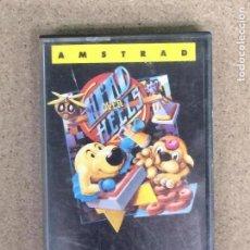 Videojuegos y Consolas: HEAD OVER HEELS-AMSTRAD CASSETTE-OCEAN-AÑO 1987-DIFÍCIL,. Lote 148909926